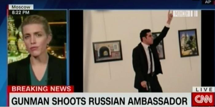 CNN оправдало убийцу российского посла фотографиями Алеппо из соцсетей