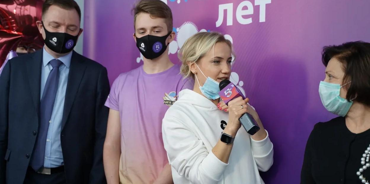 Российское движение школьников отмечает свой первый юбилей