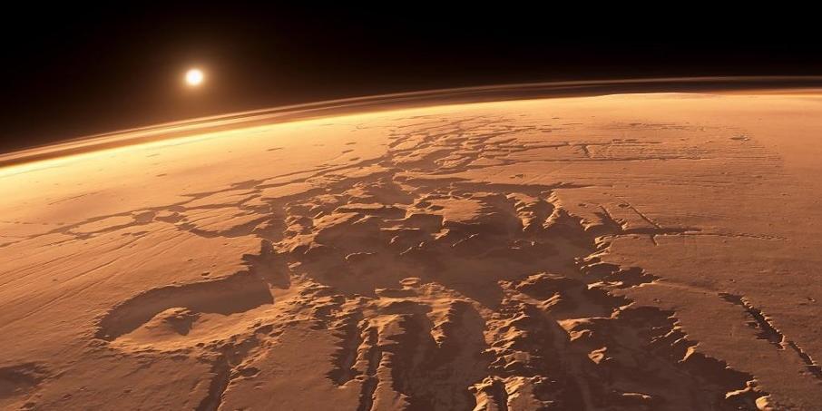 Российский аппарат первым обнаружил на Марсе земное вещество