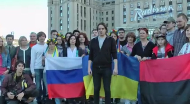 Украинцы привозят в Москву актеров для имитации поддержки киевской хунты