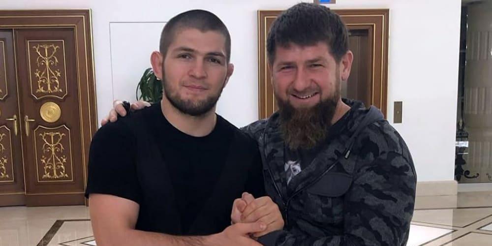 """Кадыров назвал Нурмагомедова проектом UFC: """"Никогда не видел флага РФ"""""""