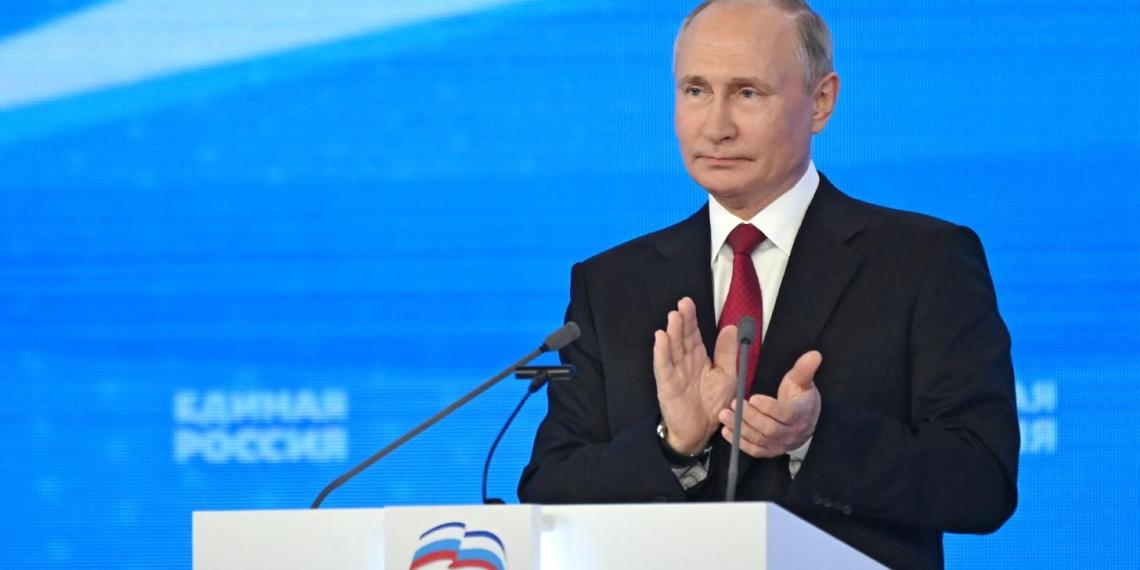 """Путин рассчитывает на победу """"Единой России"""" на выборах"""