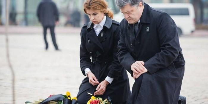"""Порошенко назвал Голодомор примером """"многовековой гибридной войны"""" России против Украины"""