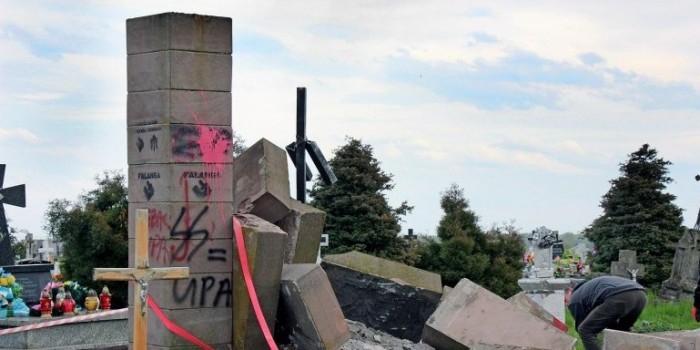 В Польше демонтируют все памятники УПА