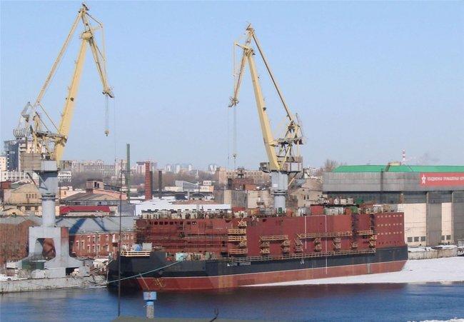Китай заинтересован в плавучей АЭС от «Росатомома»