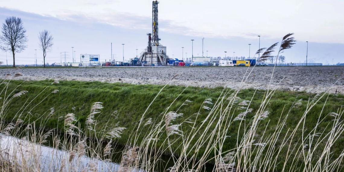 В Европе обрушилась добыча газа
