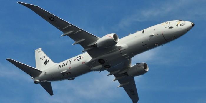 """Самолет ВМС США на низкой высоте пролетел над """"Адмиралом Кузнецовым"""""""