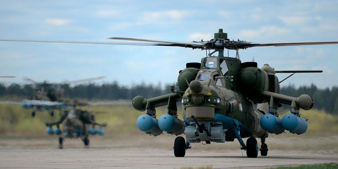 Россия оказалась второй в мире по производству боевых вертолетов