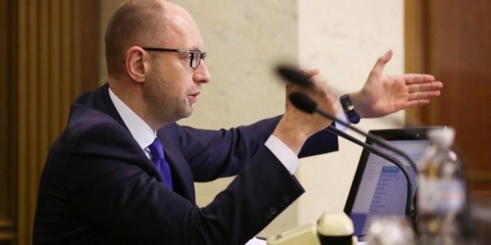 Яценюк рассказал, как Украина планирует обойти российское эмбарго