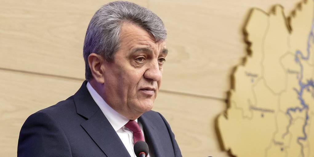 Главой Северной Осетии избрали Сергея Меняйло