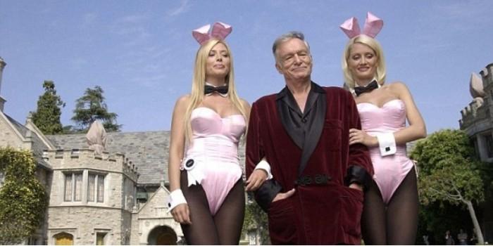 Особняк основателя Playboy продается вместе с владельцем