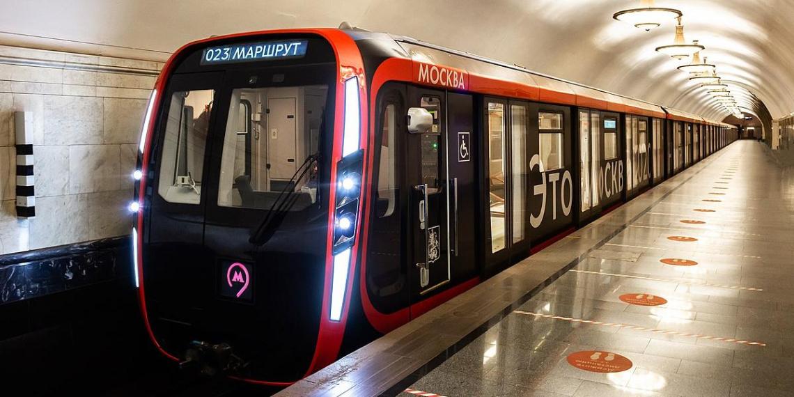 """Поезд """"Москва-2020"""" получил международную премию Red Dot за лучший дизайн"""