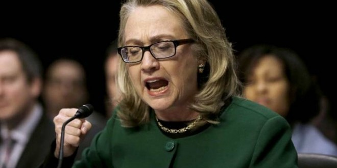 Хиллари Клинтон обвинили в избиении своего мужа