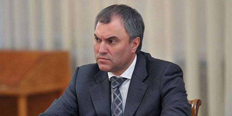 Володин: реакция международных организаций на задержание Навального скоординирована