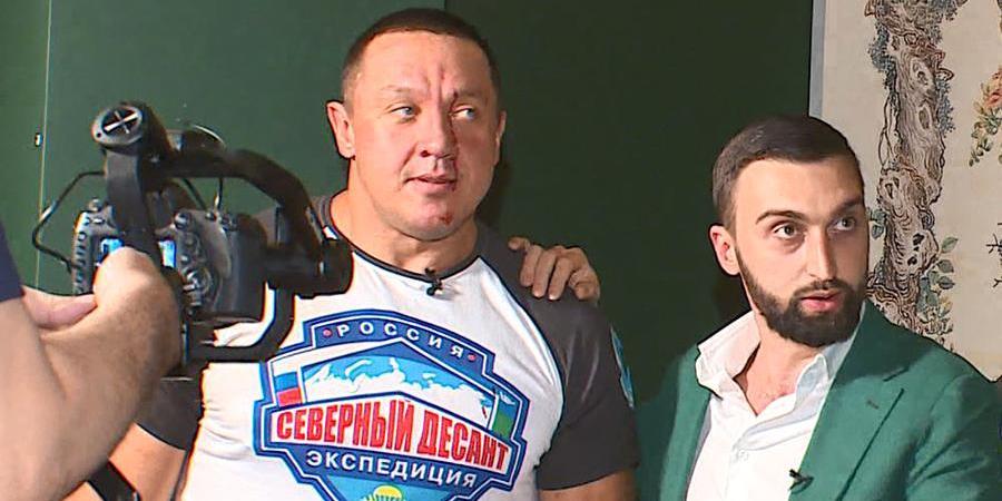 Емельяненко и Кокляев подрались в баре перед боем