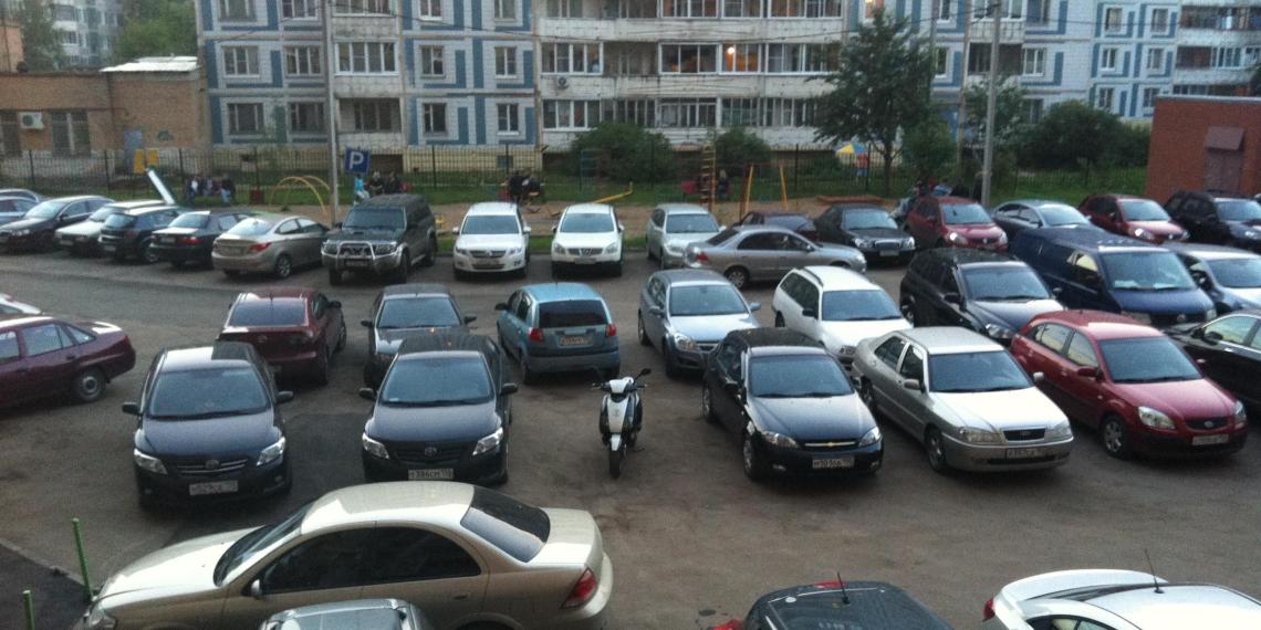 Верховный суд запретил жителям парковаться на гостевых местах в собственном дворе