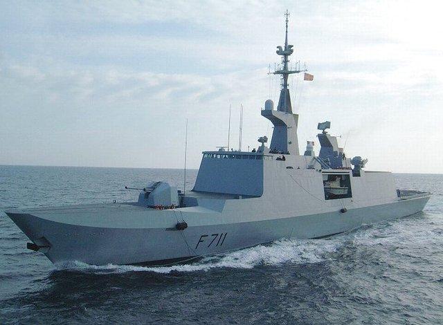 Военный корабль Франции в Черном море