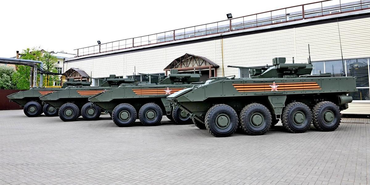 Российские инженеры создадут танк на колесной платформе