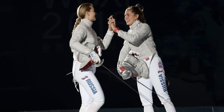 Отечественные саблистки выиграли золото и серебро на Олимпиаде
