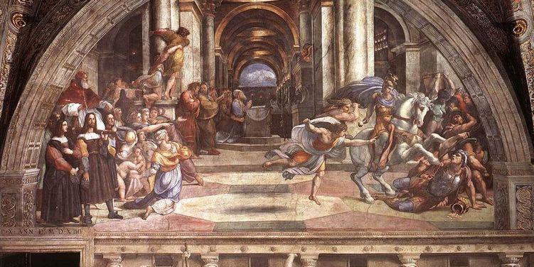 Туристки из украинской Винницы нацарапали свои имена на фреске в Ватикане