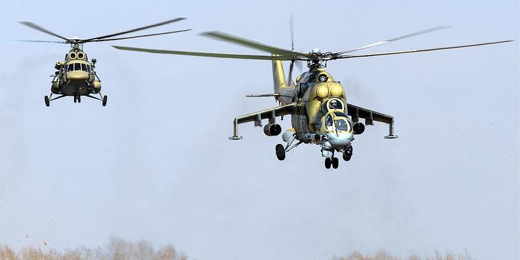 Российские военные провели учения в Таджикистане на фоне эскалации на афганской границе