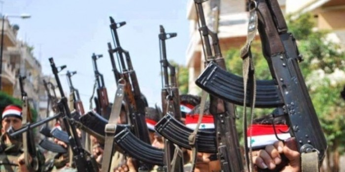 Сирийская армия усилила наступление на позиции террористов
