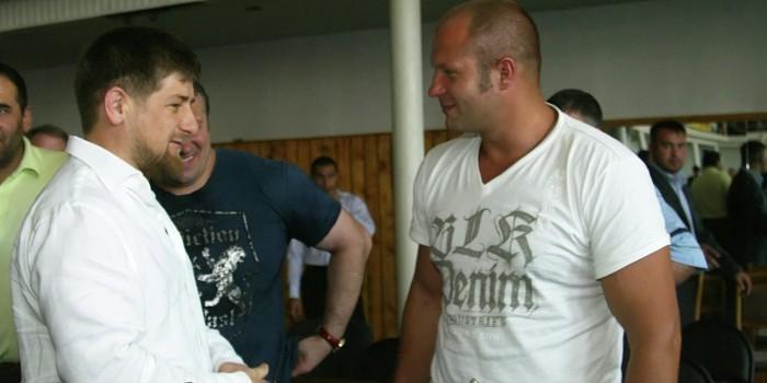 """Кадыров обвинил Емельяненко в """"немужском"""" поступке"""