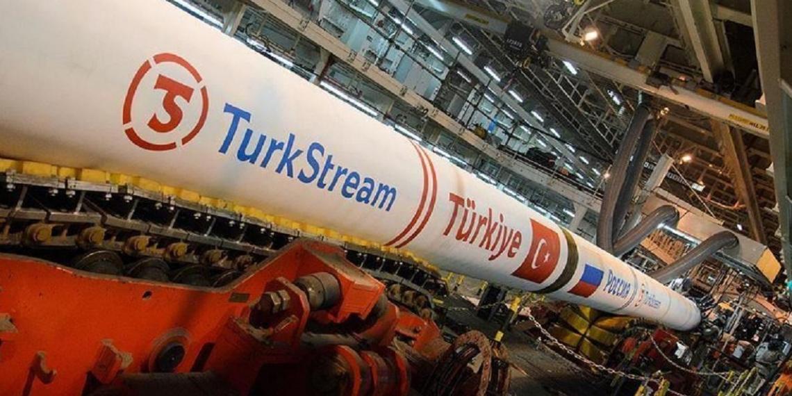 """""""Газпром"""" отчитался о перекачке первого миллиарда кубометров газа по """"Турецкому потоку"""""""