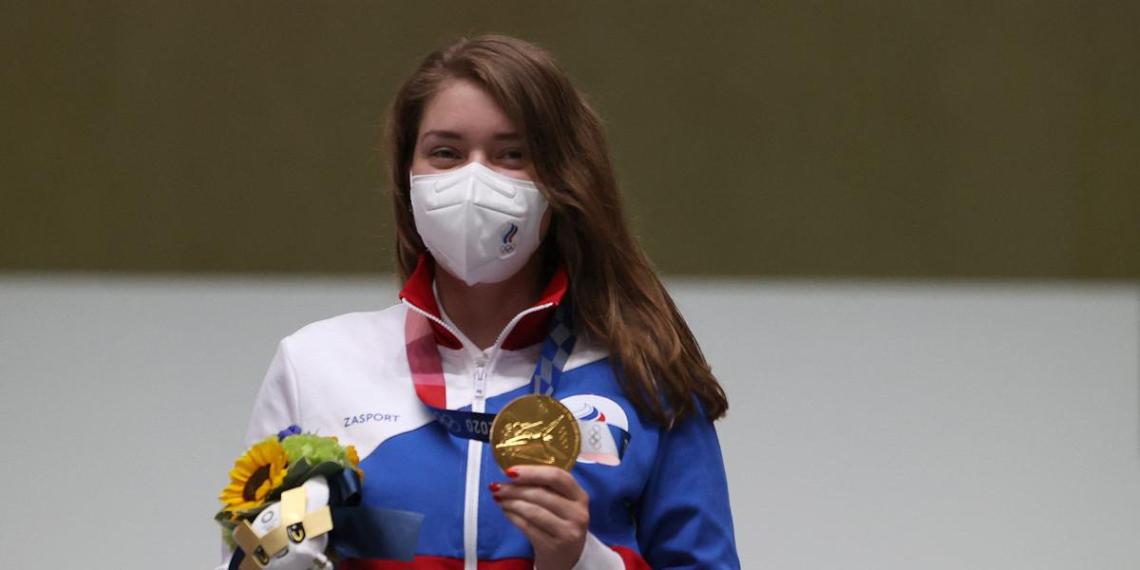Россия завоевала первое золото в Токио