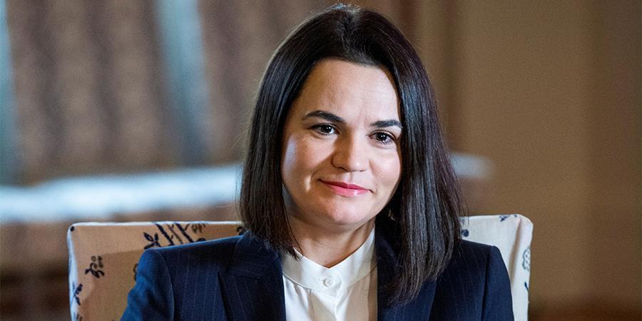 Тихановская призвала Литву переименовать Белоруссию