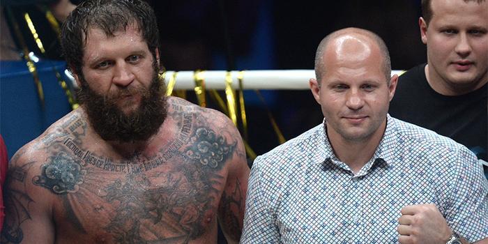 Александр Емельяненко обошёл брата Федора в бойцовском рейтинге
