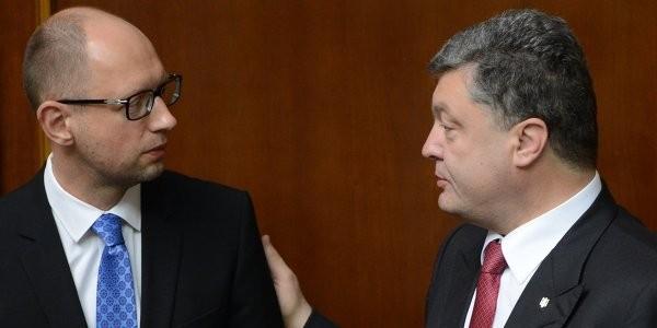 Порошенко призвал Яценюка и Шокина уйти в отставку