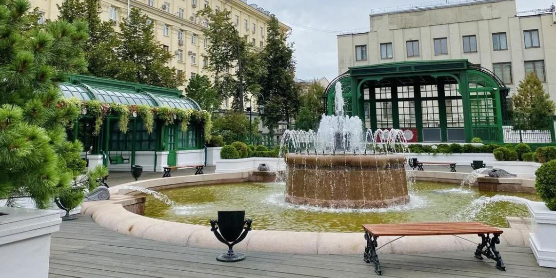 В Москве благоустроят более сотни знаковых мест и 20 улиц до конца года