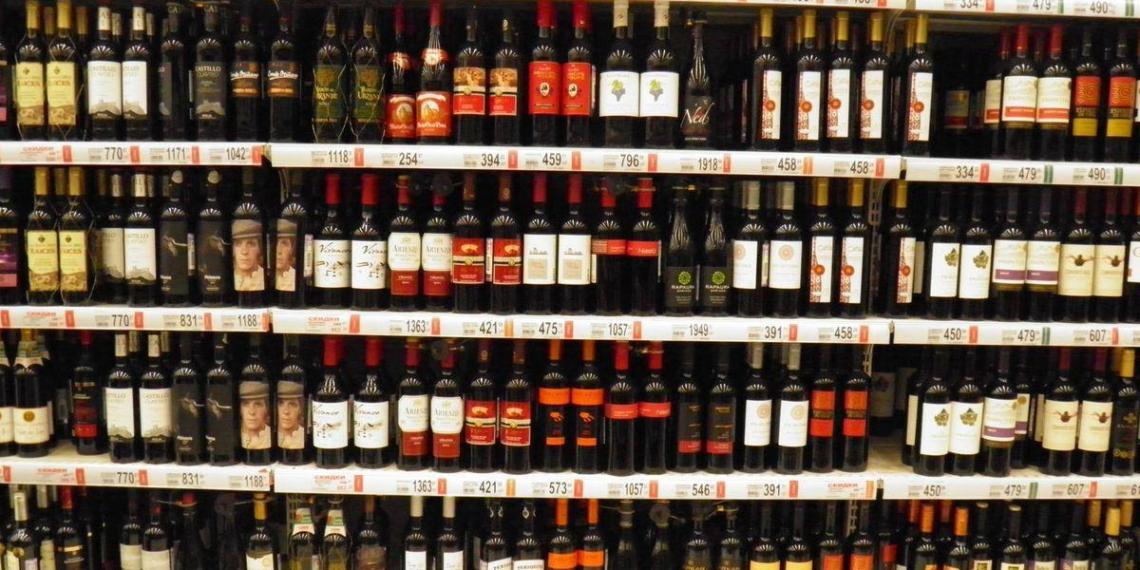Названы регионы РФ с наибольшими продажами легального алкоголя