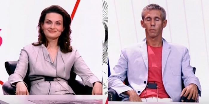 """Панин попытался """"дать в рожу"""" бывшей жене на новом шоу Шепелева"""