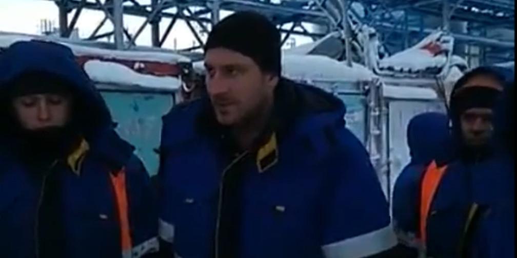 """На месторождении """"Газпрома"""" в ЯНАО бастуют 200 вахтовиков, три месяца не получающих зарплату"""