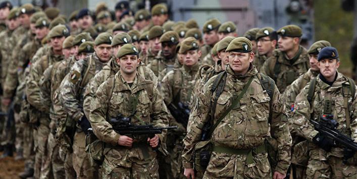 Великобритания задумала радикально сократить численность армии