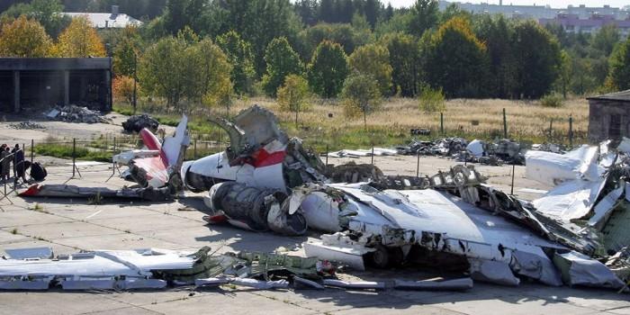 В Польше заявили о следах тротила на обломках Ту-154 Качиньского