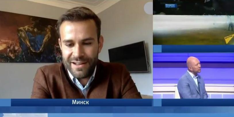 Белорусский тележурналист озадачил ведущих Первого канала, заявив в эфире о поддержке протестов