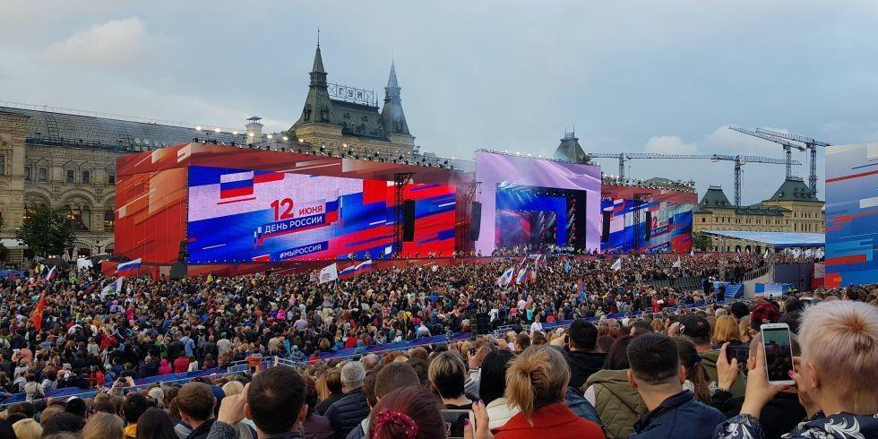Более 6 миллионов человек приняли участие в празднованиях Дня России