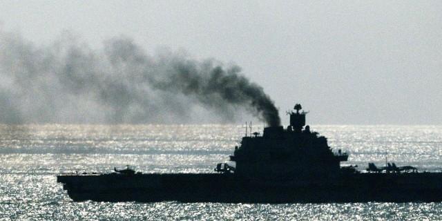 """Стала известна стоимость ремонта крейсера """"Адмирал Кузнецов"""""""