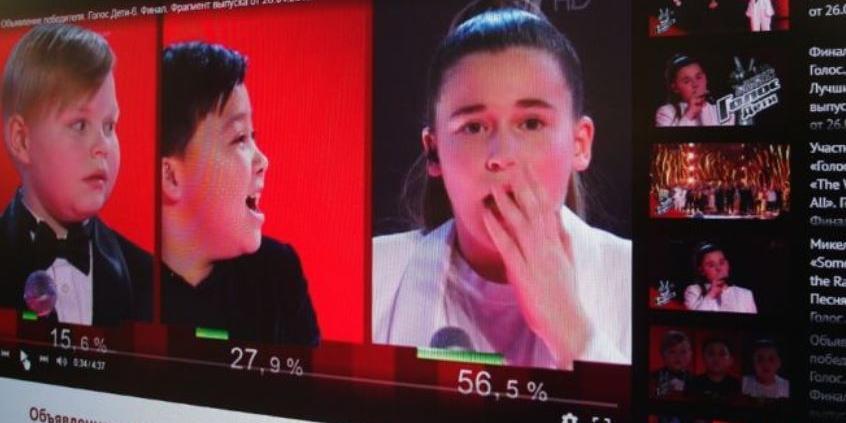 """Голландские владельцы шоу """"Голос"""" обеспокоены скандалом вокруг голосования в России"""