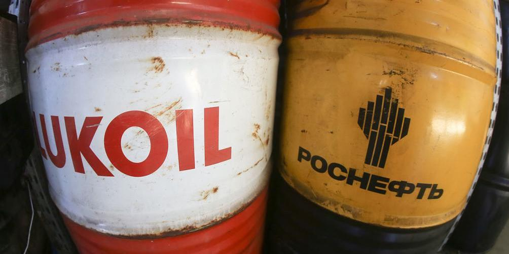 Российские нефтяные компании за пару часов потеряли в цене 1,6 трлн рублей