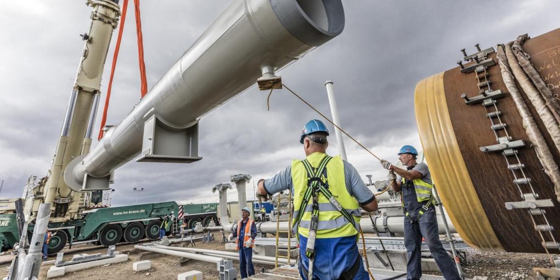 Партнер СП-2 оценил степень готовности газопровода