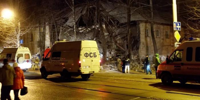 В Перми произошло обрушение жилого дома