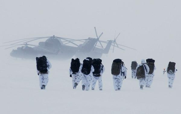 Цепь военных сооружений в Арктике будет создана уже в этом году
