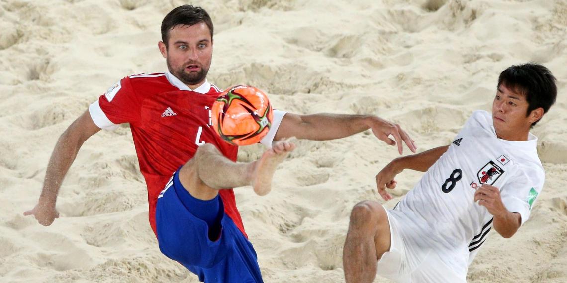 Сборная России по пляжному футболу заняла первое место в мировом рейтинге