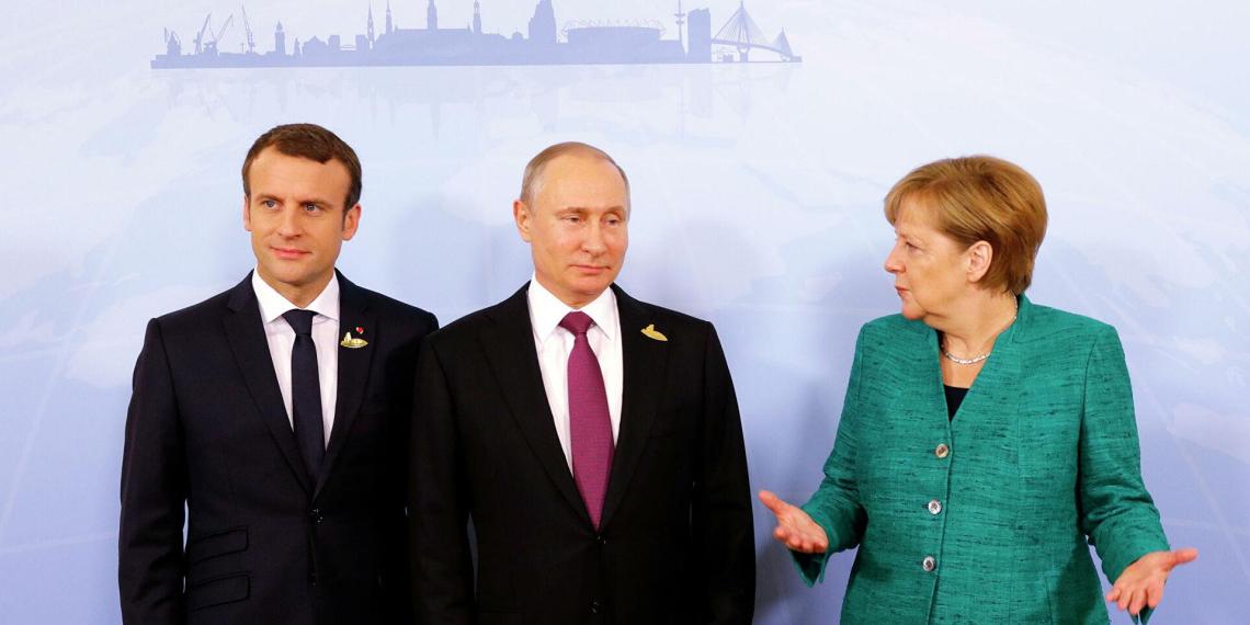 Путин, Макрон и Меркель обсудят Донбасс без Зеленского