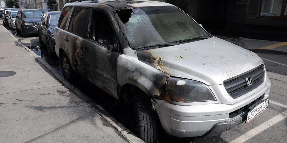 """Владелец сожжённого """"за Матильду"""" автомобиля оказался противником фильма"""