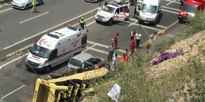 В ДТП с туристическим автобусом в Турции погибли 20 человек